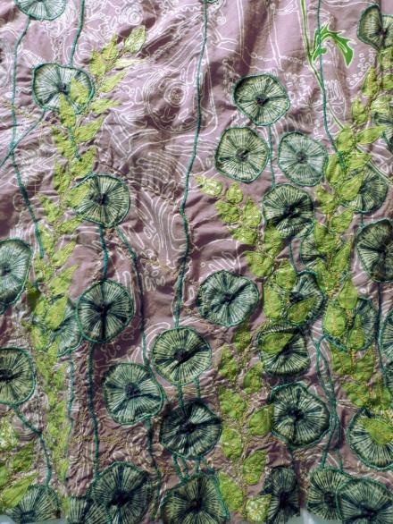 batik brodé détail