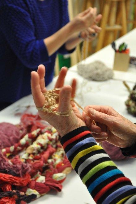 tricoter au doigt