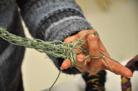 tricoter au doigt +