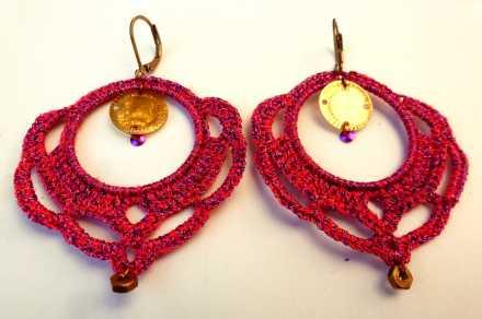 boucles crochet fushia.JPG